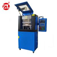 Wholesale 20T Double Layer Vulcanizing Hot Press Hydraulic Machine With Water Cooling from china suppliers