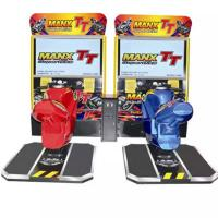 Quality Stable Motorcycle Racing Arcade Machine , 230kg Racing Simulator Arcade Machine for sale