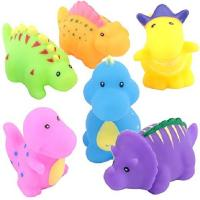 Wholesale Soft Floating Dinosaur Rubber Bath Toys Phthalate Free For Tub / Pool / Beach from china suppliers