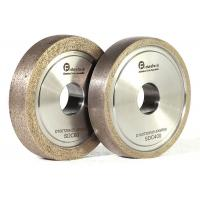 Wholesale Refractory Diamond Metal Bond Grinding Wheels With Round Edge For Glass from china suppliers
