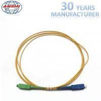 Wholesale 2.00m 1 Meter Simplex Single Mode Fiber Patch Cables SC / UPC - SC / APC from china suppliers