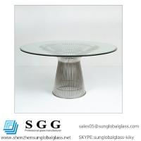 Wholesale CE& SGS certificated Grade A high quality Beveled Glass Top from china suppliers