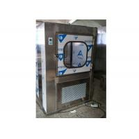 Wholesale SUS 304 Material Clean Room Pass Through Boxes With G4 Pre - Filter from china suppliers