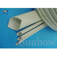 Quality Insulation type Silicone Fiberglass Sleeving / Flame Retardant industrial for sale
