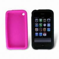Wholesale Silicon Cases for iPhone 3G, Protect against Dirt, Available in Various Colors from china suppliers