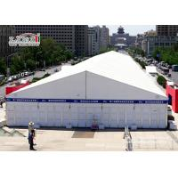 Best White Aluminum Temporary Storage Structures Industrial Canopy Tent Wind Resistant wholesale