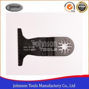 China 65x40mm BIM Bi-Metal oscillating multitool saw blade, quick blade for metal and wood on sale