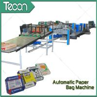 33KW Automatic Paper Bag Making Machine With Step Cut & Flat Cut for sale
