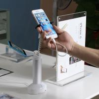Wholesale COMER adjustable independent alarm security devices for cellphone desk display stands from china suppliers
