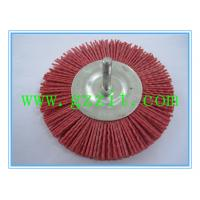 China Shaft-mounted abrasive wheel brushes on sale