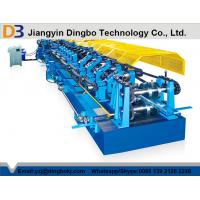 China Color Steel Tile Pre - Cutting Purlin Machine With Worm Gear Box Transmission on sale
