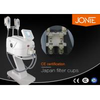 Best Portable Cryolipolysis Slimming Machine With Double Hand Pieces Working Simultaneously wholesale