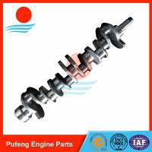 Wholesale excavator diesel engine parts, 6BD1 Crankshaft 1123104370 for UH06-5 EX200-1 EX200-2 SH200 from china suppliers