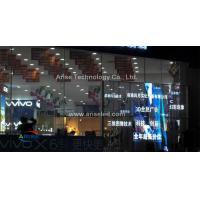 Wholesale P10mm/12 mmIndoor Glass LED Display Glass LED display/ Transparent LED display ARISELED from china suppliers