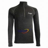 Wholesale Thermal Underwear for Men, Super Moisture Wicking Function, Made of Merino Wool/Polypropylene from china suppliers