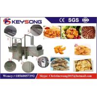 Wholesale Industrial Continuous Belt Food Frying Machine 380v 57KW For Burgle Chips from china suppliers