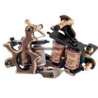 Wholesale Exquisite Coil Tattoo Machine Pure Brass Gun Type Liner / Shader Bronze Color from china suppliers