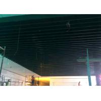 Wholesale Roller Coated Wood Color Aluminum Baffle Ceiling For Shopping Mall 12 Years Warranty from china suppliers