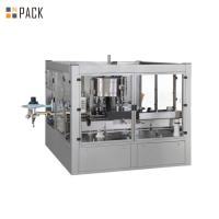 Chemical OPP Bottle Sticker Labeling Machine Small Glue Consumption for sale