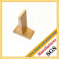 Wholesale solid copper alloy sanitary parts extrusion profile section from china suppliers