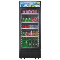 China 350L Upright Display Fridge , Auto Defrost Refrigerated Display Cooler for sale