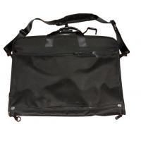 China Black 1200D Oxford Fabric Men's Suit Garment Bags With Pockets For Shoulder Strap on sale