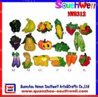 Wholesale fruits&vegetables fridge magnets from china suppliers
