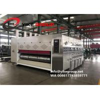 Wholesale Automatic Corrugated Carton Box Machine 200pcs/min Ink Printing Die Cutting With Slotting Machine from china suppliers