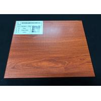 Wholesale Wood Color Acoustic Aluminium Honeycomb Panel For Interior Wall 1220×2440mm from china suppliers