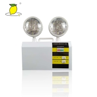 China Switch Control Alloy LED twin spot emergency light for office buildings shopping malls on sale