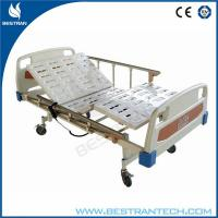 Wholesale Electro - Coating Electric Hospital Beds 4 - Part Steel , ABS Bedsides Rails from china suppliers