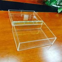 Cheap Clear acrylic gift box, Customized Acrylic coffee Box With Lids for sale