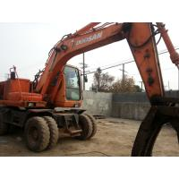 Wholesale Used Wheel Excavators DOOSAN 140W-V from china suppliers