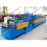Wholesale Pre - Punching C Purlin Roll Forming Machine With Cr12 Steel Blade Heavy Duty from china suppliers