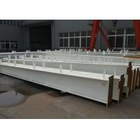 China Custom Dimension Steel Structure Workshop Q235b Q345b Grade By Auto Cad Teckla on sale