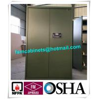Buy cheap Fireproof Gun Safety Storage Cabinet , Industrial Safety Cabinets For Storage from wholesalers