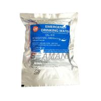 Best Survival Emergency Drinking Water Ration Pack For Inflatable Life Raft Life Boat wholesale