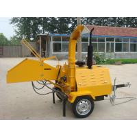 Wholesale Trailer Mounted Powerself  Woodchipper   W-40 from china suppliers