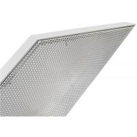 Wholesale Perforated Metal Aluminum Curtain Wall Panel Prismatic Shape Exterior PVDF Powder Spraying from china suppliers