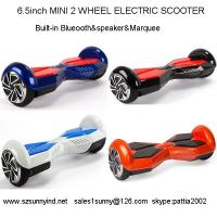 Bluetooth remote hover board self balancing electric scooter Smart wheel