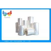 Wholesale Food Grade Blow Soft PVC Shrink Film , Plastic Heat Shrink Wrap For Bottles from china suppliers