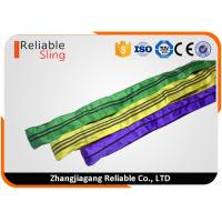 Best Tested Endless Polyester Round Sling for Pipe Lifting Safety Factor 7-1 wholesale