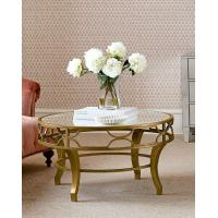 Wholesale Luxury Round Center Table Stainless Steel Base Marble Mirror Top Coffee Tape Side Table from china suppliers