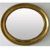 golden oval framed bathroom mirror for sale