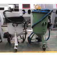 Wholesale Open Movable Portable Sandblasting Machine With 1 Gun And Three Wheels from china suppliers