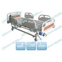 China Detachable ABS Plastic Mattress Electric Hospital Bed With Three Functions on sale
