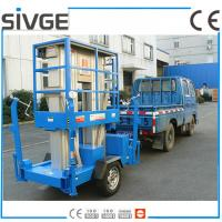 Wholesale Aluminium Alloy Trailer Mounted Lift 8m Hydraulic Trailer Bucket Lift from china suppliers