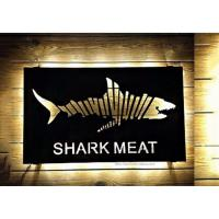 Wholesale Creative Hollowing Metal Advertising Signs Waterproof For Institution Buildings from china suppliers