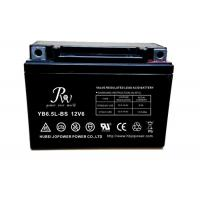 Wholesale 12V 6.5AH Sealed Lead Acid Motorcycle Battery High Reliability and Safety from china suppliers