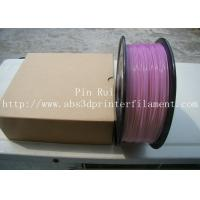 Wholesale High Quality 3D Printer Filament PLA 1.75mm 3mm For White To Purple  Light change  filament from china suppliers